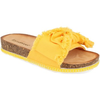 Zapatos Mujer Zuecos (Mules) Ainy WSL-109 Amarillo