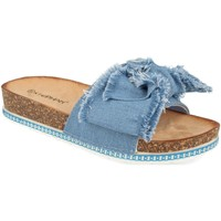 Zapatos Mujer Zuecos (Mules) Ainy WSL-109 Azul