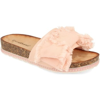 Zapatos Mujer Zuecos (Mules) Ainy WSL-109 Rosa