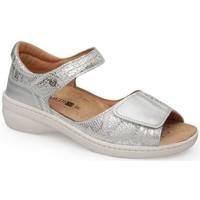 Zapatos Mujer Sandalias Calzamedi FASHION PLATINO