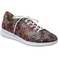 Zapatos Mujer Zapatillas bajas Rieker N3112 Cuero multicolor