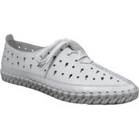 Zapatos Mujer Derbie Rieker L1335 Blanco, Blanca