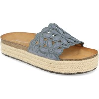Zapatos Mujer Zuecos (Mules) Festissimo YT5551 Azul