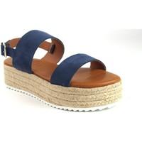 Zapatos Mujer Sandalias Csy 23021 Azul
