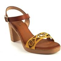 Zapatos Mujer Sandalias Csy H050 Amarillo