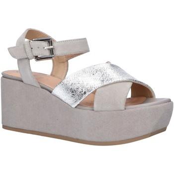 Zapatos Mujer Sandalias Geox D92CEB 0VI22 D ZERFIE Plateado