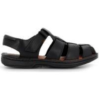 Zapatos Hombre Sandalias 48 Horas 7102 Negro