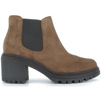 Zapatos Mujer Botines Bryan 3205 Taupe Taupe