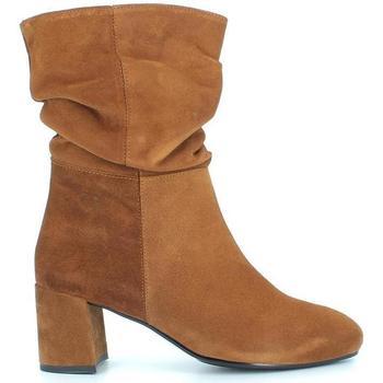 Zapatos Mujer Botines Desiree 92148 Cuero