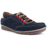 Zapatos Hombre Derbie & Richelieu Fluchos F0459 Azul Azul