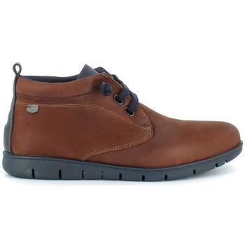 Zapatos Hombre Botas de caña baja On Foot 8552 Cuero Cuero
