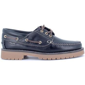 Zapatos Hombre Zapatos náuticos Snipe 21201 Azul