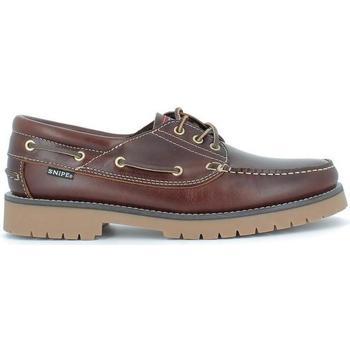 Zapatos Hombre Zapatos náuticos Snipe 21201 marrón