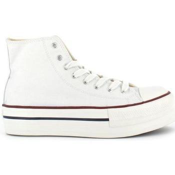 Zapatos Mujer Zapatillas altas Victoria 1061101 blanco