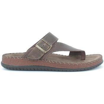Zapatos Hombre Sandalias Walk&Fly 9289 17790 marrón