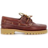 Zapatos Hombre Zapatos náuticos Es Piel 24H DEY-252.2 marrón marrón