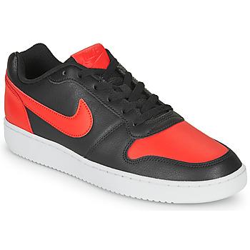 Zapatos Hombre Zapatillas bajas Nike EBERNON LOW Negro / Rojo