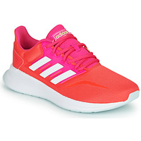 Zapatos Mujer Running / trail adidas Performance RUNFALCON Rojo / Rosa