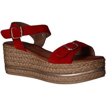 Zapatos Mujer Sandalias Lola Rico 812004 Rojo