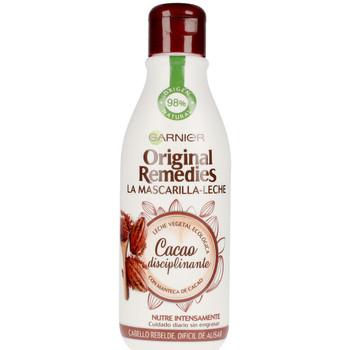 Belleza Acondicionador Garnier Original Remedies Mascarilla Leche Cacao