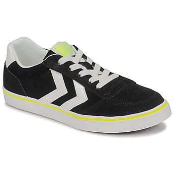 Zapatos Niños Zapatillas bajas Hummel STADIL 3.0 JR Negro / Blanco