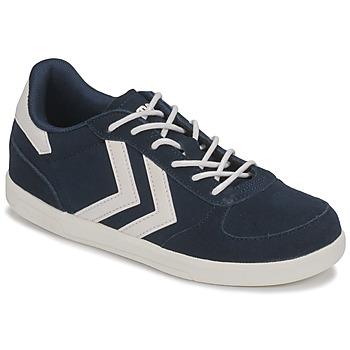 Zapatos Niños Zapatillas bajas Hummel VICTORY JR Azul