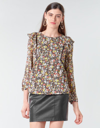 textil Mujer Tops / Blusas Betty London NELIA Negro / Multicolor