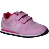 Zapatos Niña Multideporte New Balance IV500RK Rosa