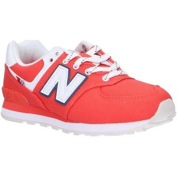 Zapatos Niños Multideporte New Balance PC574SOL Rojo