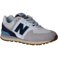 Zapatos Niños Multideporte New Balance PC574SOU Blanco