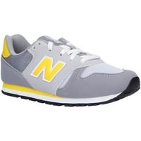 Zapatos Niños Multideporte New Balance YC373AG Gris