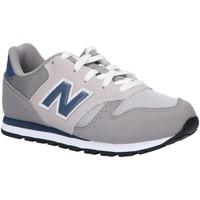 Zapatos Niños Multideporte New Balance YC373KG Gris