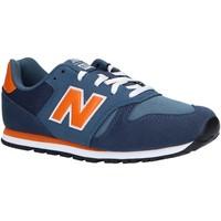 Zapatos Niños Multideporte New Balance YC373KN Azul