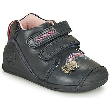 Zapatos Niña Zapatillas bajas Biomecanics BOTIN TWIN Marino