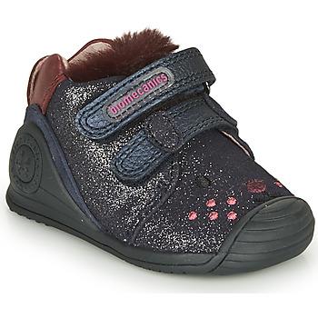 Zapatos Niña Zapatillas bajas Biomecanics BOTIN ELASTICO Marino