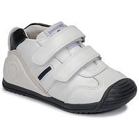 Zapatos Niño Zapatillas bajas Biomecanics BIOGATEO SPORT Blanco