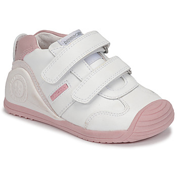 Zapatos Niña Zapatillas bajas Biomecanics BIOGATEO SPORT Blanco / Rosa