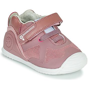 Zapatos Niña Zapatillas bajas Biomecanics ZAPATO ELASTICO Rosa