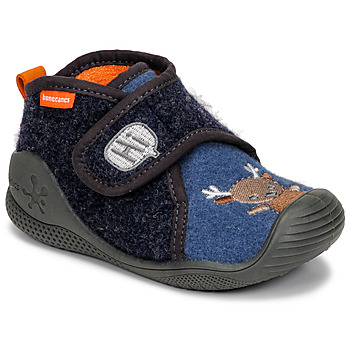 Zapatos Niños Pantuflas Biomecanics ZAPATILLA TWIN Gris / Azul