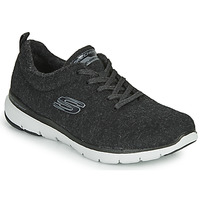 Zapatos Mujer Fitness / Training Skechers FLEX APPEAL 3.0 PLUSH JOY Negro