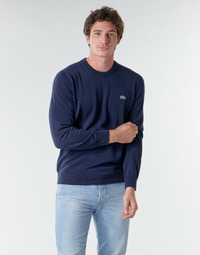 textil Hombre Jerséis Lacoste AH1985 Marino