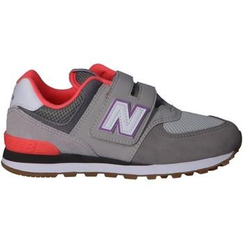 Zapatos Niños Multideporte New Balance YV574SOC Gris