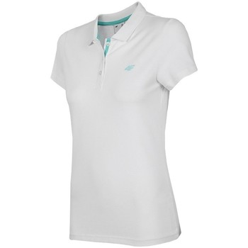 textil Mujer Polos manga corta 4F TSD007 Blanco