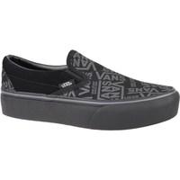 Zapatos Mujer Slip on Vans 66 Classic Slipon Platform Grises,Grafito