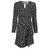 textil Mujer Vestidos cortos Betty London NOELINE Negro / Blanco