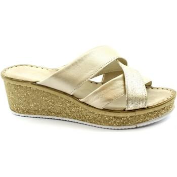 Zapatos Mujer Sandalias Grunland GRU-RRR-CI1772-PL Platino