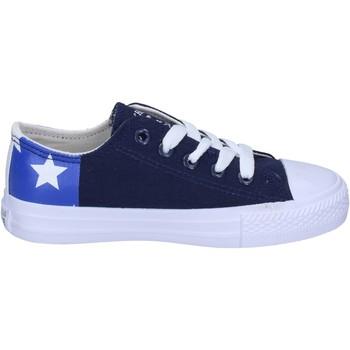 Zapatos Niño Deportivas Moda Beverly Hills Polo Club BM763 Azul