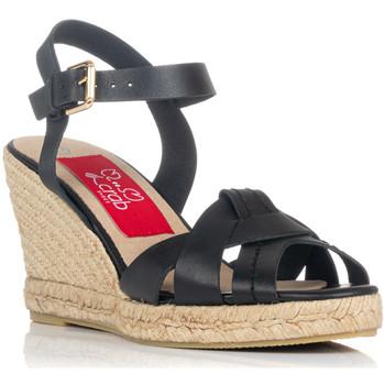 Zapatos Mujer Sandalias Crab 82006 NEGRO