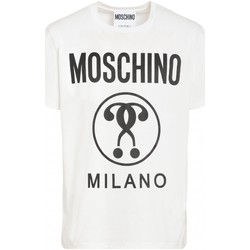textil Hombre Camisetas manga corta Love Moschino T-Shirts ZPA0706 - Hombres blanco