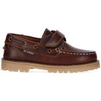 Zapatos Niño Zapatos náuticos Chika10 Kids Leather NAUTIC KIDS 02 Coñac/Conac